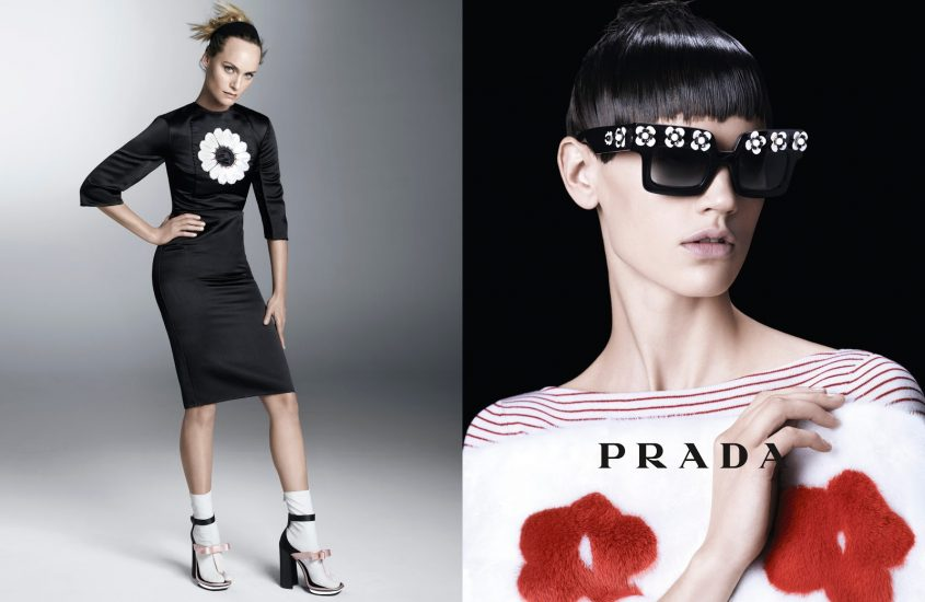 Kate Moss per Versace, Romeo Beckham per Burburry, Eva Herzigova, Amber Valletta e molte altre bellissime per Prada.