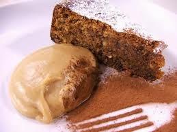 Torta morbida al cioccolato e marron glacé