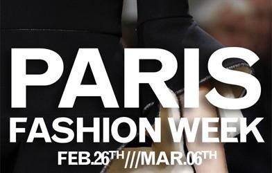 Calendario della Fashion week a Parigi