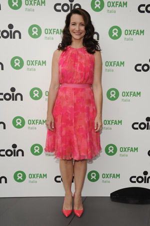 Kristin Davis testimonial del progetto 'Women's Circle For Chance'