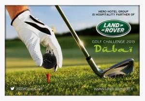 Al via il Land Rover Golf Challenge 2013