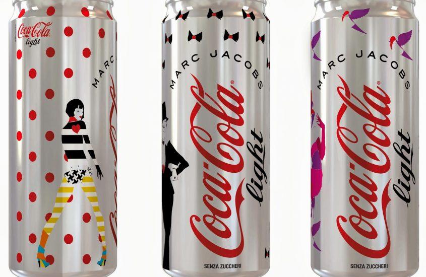 Finalmente anche in Italia Coca Coca light vestita da Marc Jacobs