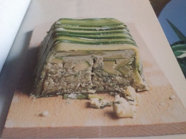 Terrina di zucchine e basilico