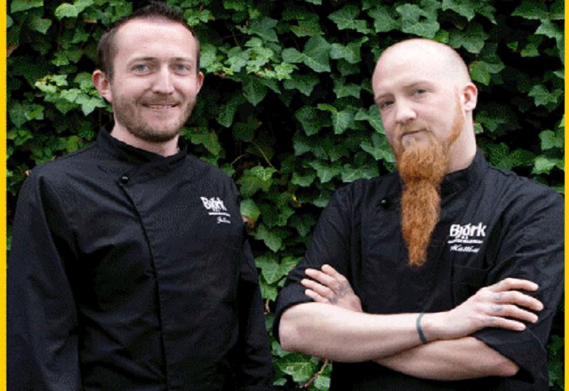 Gli chef Julien Chiudinelli e Mattias Sjöblom al Björk Side Store per parlare di un nuovo progetto
