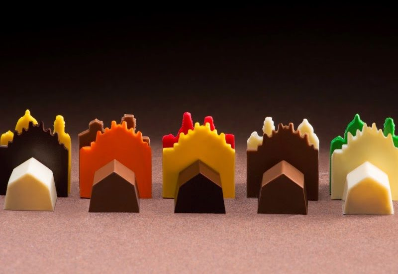Ernst Knam dedica un cioccolatino a Duomo di Milano in occasione dell'Expo