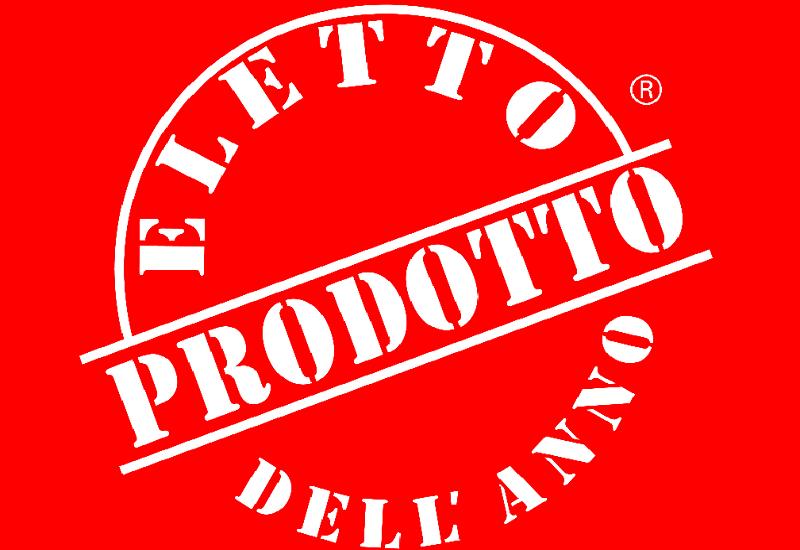 Il logo 'Eletto Prodotto dell'Anno' premia i prodotti più innovativi