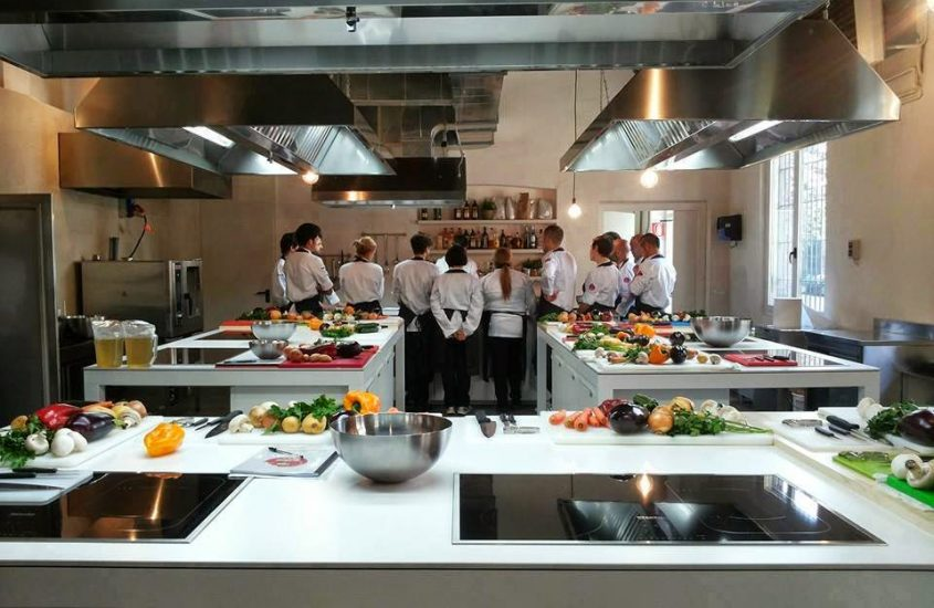 'Al Cortile' il Bio Temporary Restaurant di Food Genius Academy