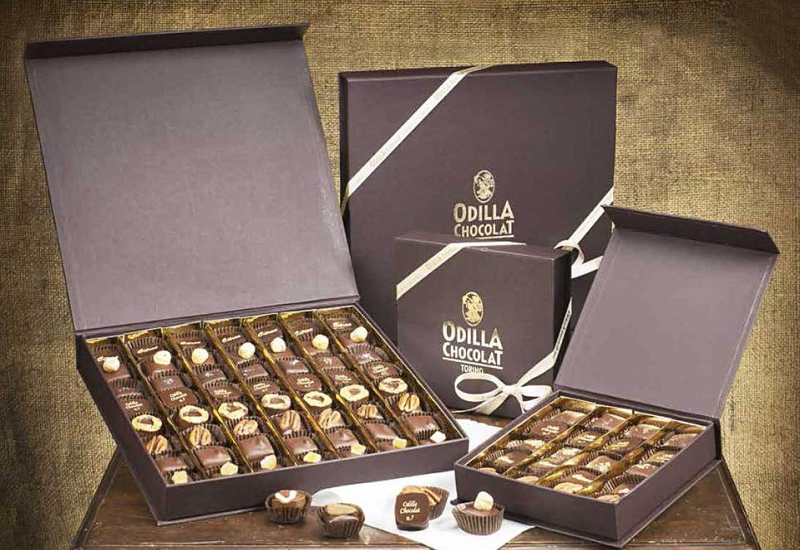 Odilla Chocolat apre a Milano e crea una nuova pralina dedicata a Valeria Golino