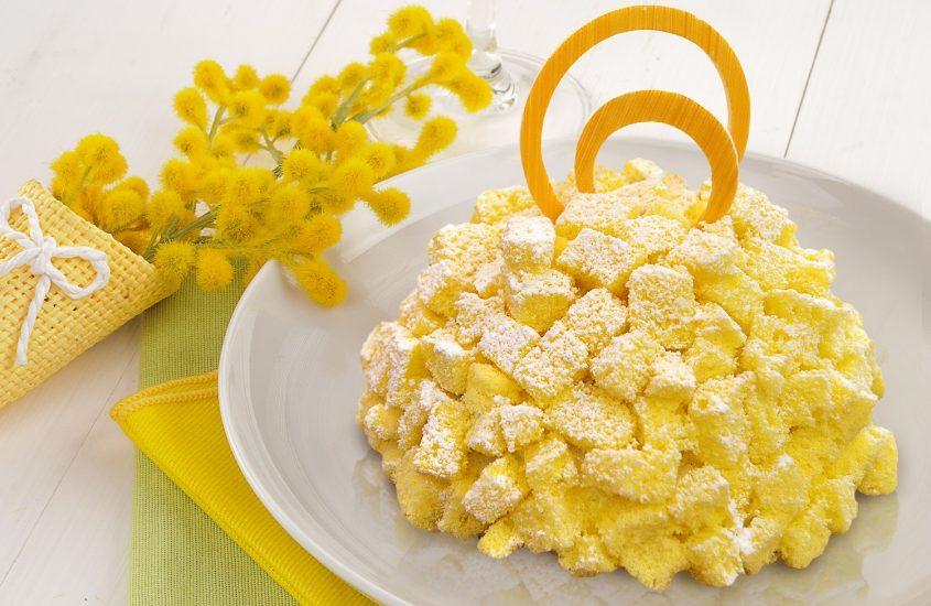 Torta mimosa Gluten Free
