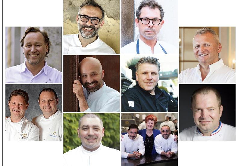 S.Pellegrino Sapori Ticino, 10 anni con 10 chef tristellati
