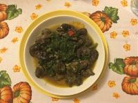 Lumache con gli spinaci