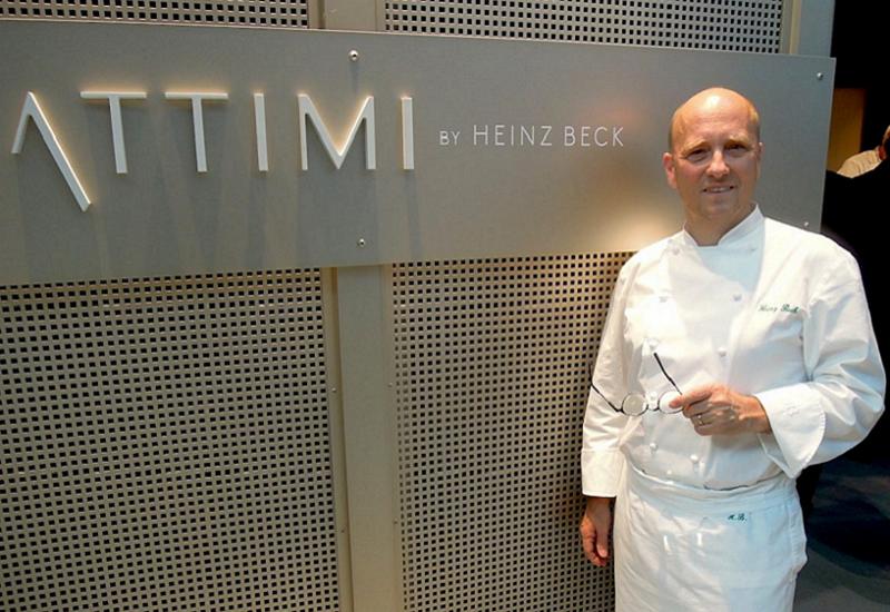 'Attimi' di Heinz Beck, il nuovo ristorante 'a tempo' all'interno di Fiumicino