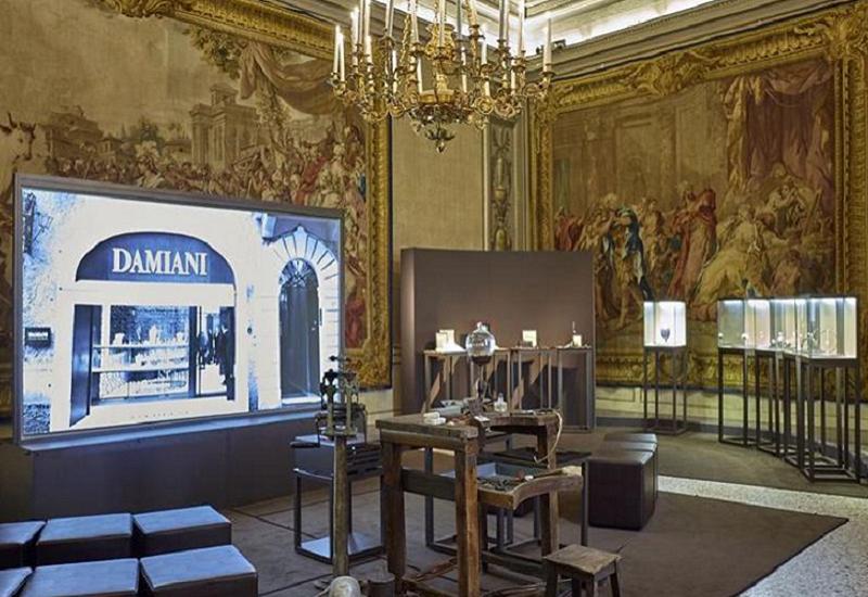 Palazzo Reale ospita un viaggio nell'alta gioielleria, un secolo di gioielli Damiani