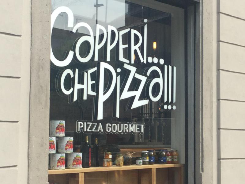 Ristoranti a Milano: 'Capperi, che pizza'