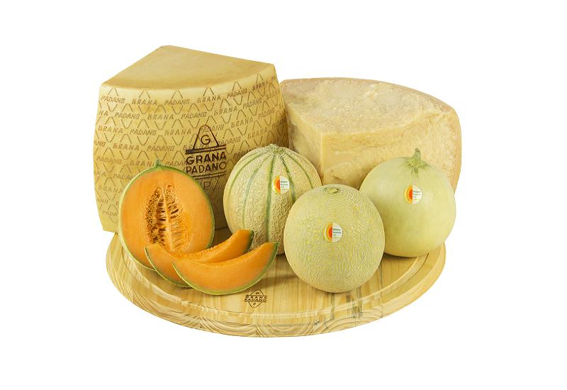 Quando il Grana Padano Dop incontra il Melone Mantovano nasce un menù d'eccezione