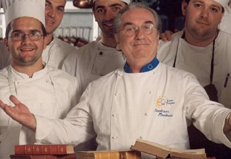 Al via in Europa il Grand Tour della cucina italiana firmato Gualtiero Marchesi