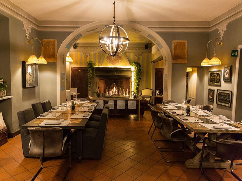 Lo chef Alessandro Garzillo alla guida del ristorante Q33 all'interno del Resort Al Castello