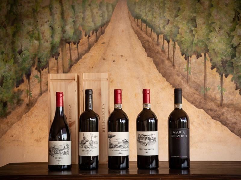 La storia dei vini biologici Bulichella