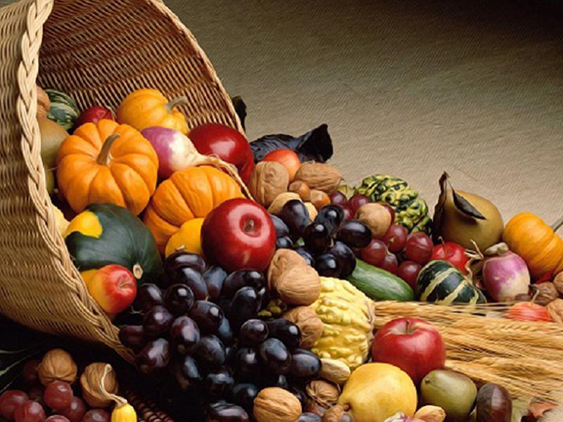 Alimenti d'autunno tesoro per la salute