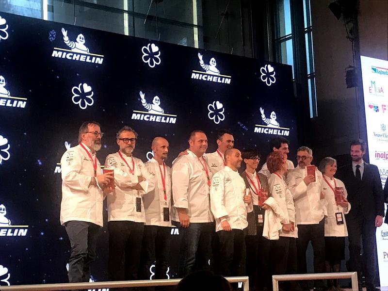 Svelate le nuove Stelle Michelin Italia 2021